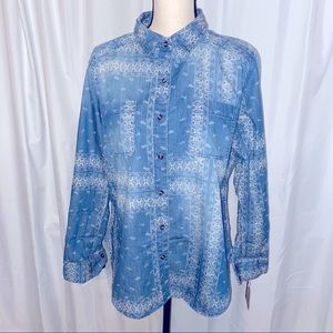 Mossimo Supply Co Long Sleeve Button Down